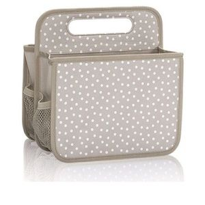 Thirty one caddy taupe dancing dot